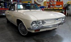 Passing Lane Motors, LLC, St. Louis''s Premier Classic Car Dealer, is pleased to offer this 1966 Chevrolet Corvair Corsa Convertible for sale! This Corsa is a true barn find, with original paint, interior, and engine. The car has been recently gone
