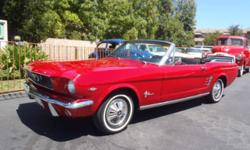 A fun top down car! That?s what this Mustang is. It is equipped with a 289 V8, 4-barrell Holley, Cobra valve covers, C4 transmission, flowmaster-type exhaust, power steering, pony interior, power top, and upgraded AM/FM/CD stereo. Can?t beat a Mustang!
