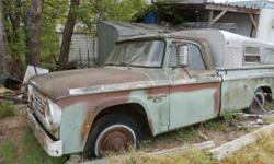 1967 Dodge D100 pickup I am the third owner has been in my family since was new. This truck was my Grand Fathers and then my Dad's would like to see it go to someone that wants to restore it back to running condition. in the condition have found them as