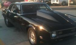 1968 Chevrolet Camaro, Big Block, 505ci,Back Halved, speed power glide, all electronics. Too much to list. Call Ricky @ (904) 721-2288 for more info. $28,000 OBO.....Cash Only....No cashier checks