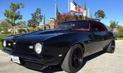 If you have any questions feel free to email me at: shannonsccobo@clubporsche.com . 1968 CAMARO PROTOURING RESTOMOD CALIFORNIA CAR WITH CLEAN TITLE COMPLETELY RESTORED IN 2015 FRAME ON RESTORATION AND READY TO GO DAILY DRIVER CLASSIC CAMARO WITH MODERN