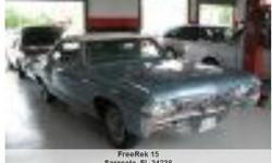 1968 Chevrolet Impala Convertible , Call for mileage Address: Sarasota, FL 34238 View our website: www.freerek15.com Notes: Looking for a full bodied convertible to hit the back roads and cruise with the top down? You have just found a very