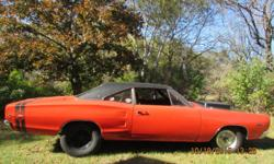 ANY QUESTIONS JUST EMAIL ME: busterpflugh@netzero.net . This is a rare 1968 Dodge Super Bee (VIN WM21H8A342940) with '68 Hemi Engine owned by 2nd owner since September of 1971 (44 years). This vehicle was purchased in the Monterrey Bay area of California,