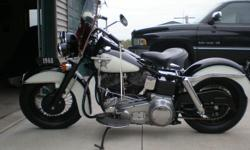 1968 harley flh older restoration 3 speed with reverse tank shift has new battery and rebuilt transmission  have receipt for it runs and drives good everything works on it clear title in my name. You can reach me at