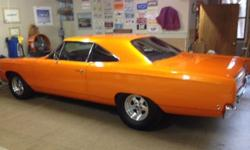 E-Mail Questions at: dalenedkklapec@ukgolfers.com . 1968 plymouth satellite street strip car -all new steel fenders,doors, quarters,trunk. hood is fiberglass and new. trunk floor and gas tank are also new,as well as panel between trunk and rear window.