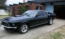 This car features new classic black paint, new white clarion knit interior and black carpet, new torque thrust II wheels with new rubber, security system, new CD player, new radiator, new brakes and brake booster,new rotors, new ball joints, new