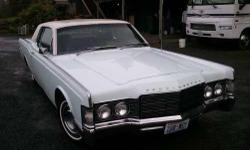 Year: 1969 Make: Lincoln Model: Continental Mileage: NA Interior Color: Black Exterior Color: Robin Egg Blue All REASONABLE OFFERS CONSIDERED. 1969