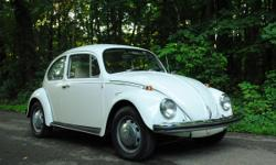 This bug is in great condition. The paint is original and in good condition, no dents in the body, and very minimal rusting. The interior is excellent shape. Runs well after warmed up. Only 30,000 miles. Currently has a small electrical issue, likely a