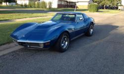 1970 Chevrolet Corvette, 82,600 miles, clean title. Please let me know if you have any questions, I probably won't be able to respond during the day, but will check email at night. My e-mail is : Emma23Brooklyn@outlook.com