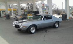 1970 Camaro, Z28 Clone, 61,000 original miles,split bumper. Just built fresh (less than 800 miles) 355 4 bolt main,9 to 1 compression. Forged TRW flat top pistons, cast crank turned 10/10,all ARP fasteners,clevite bearings,stock rods(shot peened and