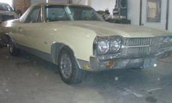 1970 Chevy El Camino 350 engine Auto Transmission Air Conditioning Power Steering Power Brakes 121,000 Miles Garage Stored No Dents Never Wrecked All Original, beautiful condition, Runs great. It was grandpa's car.