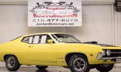 Menu Price $42950.00! By 1970 The Ford 429 was available in both the Mustang and Torino bodies, and this 1970 Cobra was ordered with the top drawer J Code 429 CJ Ram Air. also optioned from the factory this car has the C6 automatic trans, factory