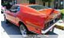 1971 Ford MACH 1 , 61,408 Address: Sarasota, FL 34238 View our website: www.freerek15.com Notes: this is the real deal a 1971 Mustang Mach l 05 Code .......Same owner for the past 32 years very nice original car in and out.........Looks and runs