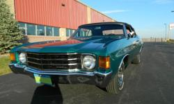 If you have any questions please email at: jeremyeverts@netzero.net . This beautiful Chevelle has been driven only 400 miles since undergoing a complete frame off restoration.The paint and body work was done to a very high level by a professional body