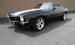 Scott C's Classics and Collectables Has a Beautiful 1973 Camaro Z28 From Arizona up ForSale...  Engine is a 383 Stroker with Aluminum Heads and Nitrous in the Trunk... Transmission is a Turbo 400 with Shift Kit and His/Her Shifter...