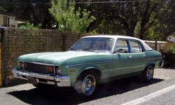 I am selling my nova , I bought a suburban that more suits my needs. I have been driving this car as my daily driver, it starts every time and runs very well, The car runs down the road nice, I had replaced many parts on the car when i got it three years