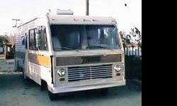 This RV motor home runs good looks good and is in good condition !