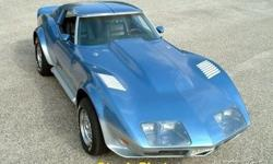 If you are searching for an incredible driving experience that is laced with true American muscle then look no further because this 1976 Chevy Corvette is perfect for you! This two-door sports car features the athletic and muscular styling for which