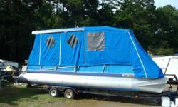 1978 Aloha 24 ft Party Barge with 50 hp Johnson SPL with full enclosure. Short term Layaway available with no credit check. Most boats we require $500.00 down.We will go up to 3 months in the spring/summer and up to 6 months in the fall/winter. We also