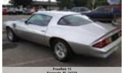1978 Chevrolet Camero , Call for mileage Address: Sarasota, FL 34238 View our website: www.freerek15.com Notes: 978 Camaro Z28 outstanding in out and under a total restoration new GM crate engine 350 290 HP plus Edelbrock Intake and carburetor with