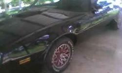 Make: Pontiac Model: Trans Am Year: 1978 Exterior Color: Black Interior Color: Black Vehicle Condition: Excellent  Price: $17,000 Mileage:0 mi Fuel: Gasoline Engine: 8 Cylinder Drivetrain: Rear wheel drive  Description: Very