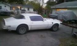 1978 Trans AM needs restoreing solid car a good starting piont. car is a numbers matching car a WS6 car. car runs and drives has the 400 6.6 high horse power motor with 72000 miles on it. the car has some rust but all floor pans are clean and