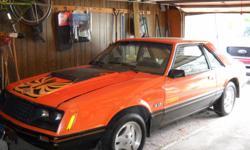 107000 miles orange over black numbers match garage stored unmolested survivor 5.0 auto ac