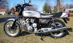 Totally original bike with no issues. This bike is a very well kept, near mint example and has been cleaned and recommissioned to be ridden and or shown as desired. Correct seat, exhaust, shocks, turn signals, etc. Bike is bone stock original and