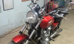 Red SR650 Kawasaki Good Condition Milage 10695