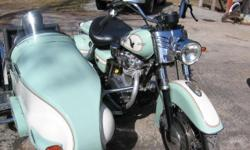 Please read..... 1981 Yamaha 650 Custom with Side Car. This is a novelty, not practical meaning it is not a Highway Cruser. It is great for Back roads and City Traffic. The side car is built of steel. The Bike is lowered...  28000 miles, Runs