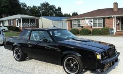 ** CAR FAX CERTIFIED, ACCIDENT FREE, LOCAL CAR ** *** Go to CAROLINAAUTOCONNECTION.com for more info. *** BUICK GRAND NATIONAL, need I say more? Absolutely beautiful inside and out. Fast and furious. 18' Foose wheels w/Goodyear Eagle F1 tires. Interior
