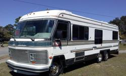 Reduced from $12,500. Willing to negotiate. Must sell. Need cash. This RV is travel and camping ready. Gas engine, runs good. Automatic transmission. Recent oil and filters changed, tune-up, water pump, belts, and fuel pump replaced. Fully self-contained.