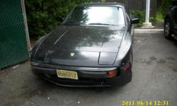 1984 PORSCHE 944 WITH 89,000 MILES. 5-SPEED TRANS. BLACK. MUST SELL. CALL JOE AT 973-232-6514 ANYTIME.