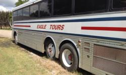 1985 Silver Eagle....6v92 turbo charge....Alison automatic transmission.....low mileage....model 15.....road ready...