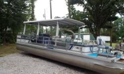 1987 28ft Landau with 48 Johnson. Short term Layaway available with no credit check. Most boats we require $500.00 down. We will go 3 months in the spring/summer and 6 months in the fall/winter. We also offer upgrades such as new or reupholstered seats,
