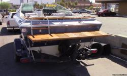 1987 4 WINNS HORIZON 170 BOAT AND TRAILER 17 FEET L0NG TRAILER IS IN GOOD SHAPE GOOD TIRES.WAS OUT ON THE LAKE TWO MONTHS AGO 130 HP ENGINE CLEAN NV TITLE FOR BOTH BOAT AND TRAILER NO TAX 702-296-4060 $2400.00