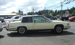 1987 CADILLAC DEVILLE COUPE, 8-CYL., 4.1 LITER, V8, AUTOMATIC, LEATHER, AIR CONDITIONING, POWER WINDOW, POWER SEATS, POWER LOCK, CRUISE CONTROL, AM/FM STEREO, CASSETTE - FOR MORE INFO CALL -- OR CHECK OUT OUR WEBSITE AT WWW.JIMVICKAUTOSALES.COM
