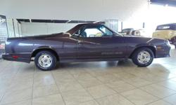 1987 Chevrolet El Camino. Please call or email for details