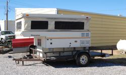 Great pop up camper for the back of your pickup! Perfect for 2 people on the go! Has bed, stove, fridge, table with bench, and storage for all your items! Explore the open road today! Call Brian at 308-394-5555with any questions. (sorry,