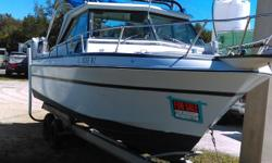 1987 Starfire 24.5 ft ....Boat and trailer in great shape ....over $7,000.00 invested ..ready for water...new batteries ..rebuilt 350 engine also trailer was rebuilt...