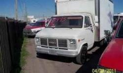 88 14' Box Van 350 V8, Automatic Great Work Truck! 214-507-0800 972-494-1391