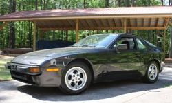Up for sale is a 1988 Porsche 944 with a 5 speed manual and a 2.5L 4 cylinder engine. The Porsche is in excellent mechanical condition, starts right up and runs for hours on end with no problems. The car comes factory with power windows, power door locks,