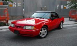 1989 Ford Mustang 1989 Ford Mustang 5.0 LX Fox Body Convertible Brooklyn , NY 11220 347-248-3645 (Main Phone) Price: $7,200 Condition: Used Mileage: 81,000 Transmission: Automatic Engine Type: V8 5.0 Exterior Color: