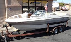 """1990 Cobalt 21 BR Classic Series Open Bow 21' $9,800  http://www.gotwatermarine.com/Consignment_1990_Cobalt_21BR_Classic_Series_Open_Bow_21_BH.html Every Hour is """"HAPPY HOUR""""!! This Cobalt BR Classic Series Open Bow is built with fun in mind."""