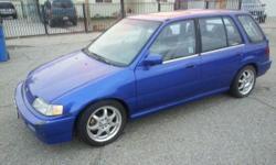 1990 Civic Wagon Runs Great Vtech Engine Sway Bars Header Cold Air Intake Too many more to name Call (909) 201-9836
