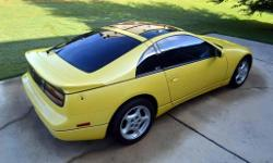 1990 Nissan 300ZX Twin Turbo. I am the second adult owner of this incredible car, it has always been garaged and covered. The car had 50,380 miles when I bought it and currently shows just shy of 52,000 miles. This is a 5 speed car in