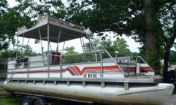 1991 Aloha Double Decker 24ft with 88hp Evinrude Short term Layaway available with no credit check. Most boats we require $500.00 down. We will go 3 months in the spring/summer and 6 months in the fall/winter. We also offer upgrades such as new or