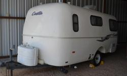 1991 Casita Trailer for sale. Located in Harlingen TX. 16 ft Spirit with fantastic fan, ac, flat screen tv, microwave shower and toilet, awning and dinette coverts to bed and single couch bed. Sleeps 3. Restored fiberglass and new logos. New tires.