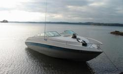 1991 Chris Craft Concept 228. Original owner, excellent condition. OMC 5.7L 260 HP. Dual batteries, battery switch, Cuddy cabin, rear bench seat, integrated swim platform, enclosed head, sink, bimini top, custom fit cockpit cover, runs great. All gear,