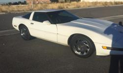 1992 Chevrolet Corvette. 111K miles. Automatic. Power windows, power seats. Cold Air.  Grey leather seats and door panels- Have original black seats and panels if you want to switch it back Well documented history with lots